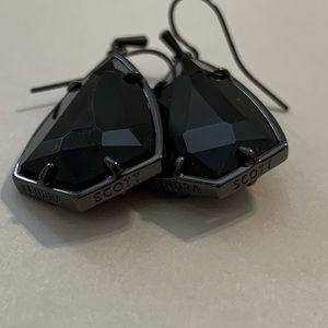Gunmetal Kendra Scott earrings